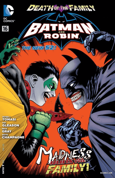 Batman and Robin (2011) #16