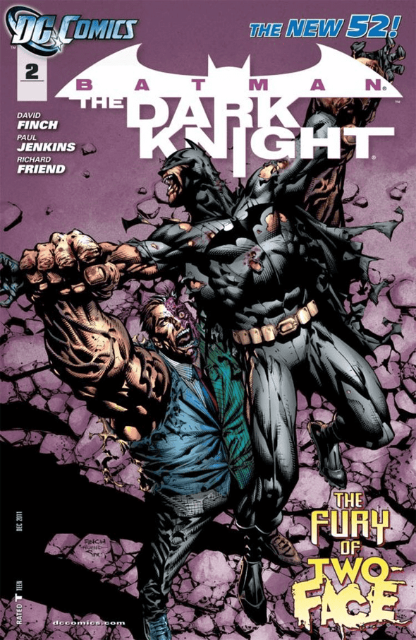 Batman Dark Knight (2011) #02