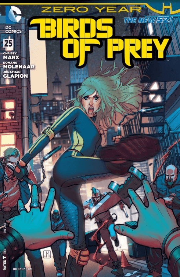 Birds of Prey (2011) #25