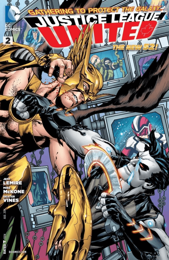 Justice League United (2014) #02