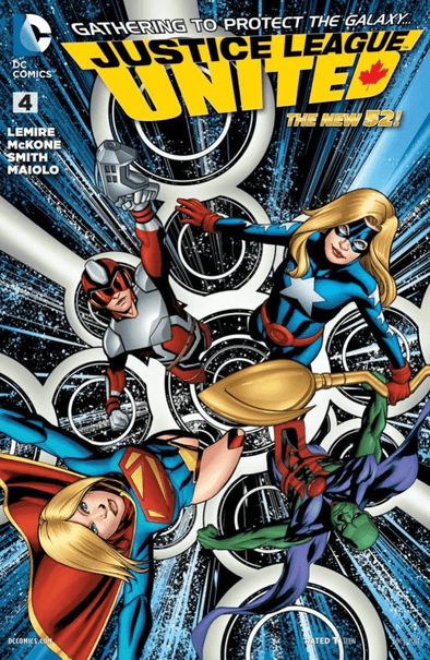 Justice League United (2014) #04