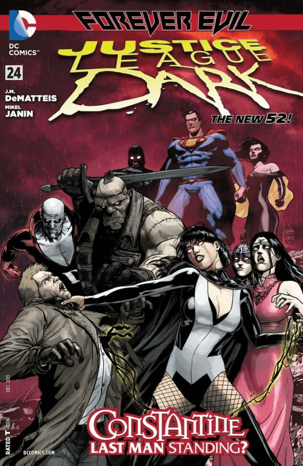 Justice League Dark (2011) #24