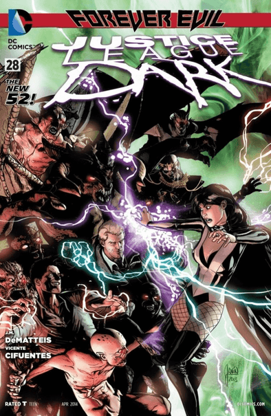 Justice League Dark (2011) #28