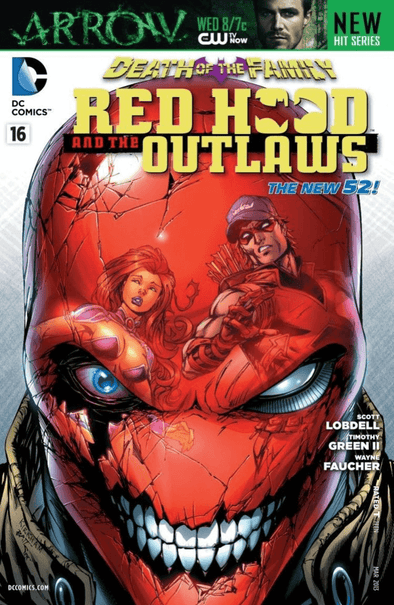 Red Hood and the Outlaws (2011) #16
