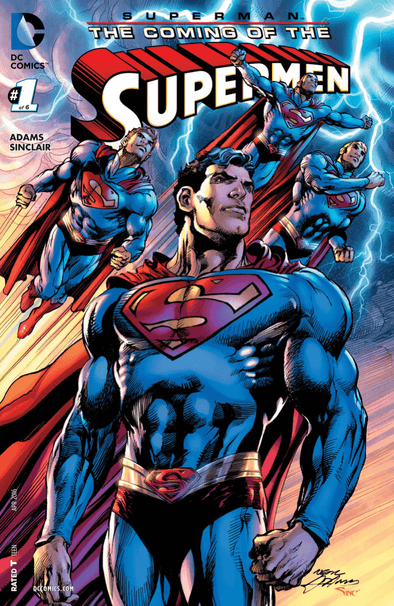 Superman Coming of the Supermen (2015) #01