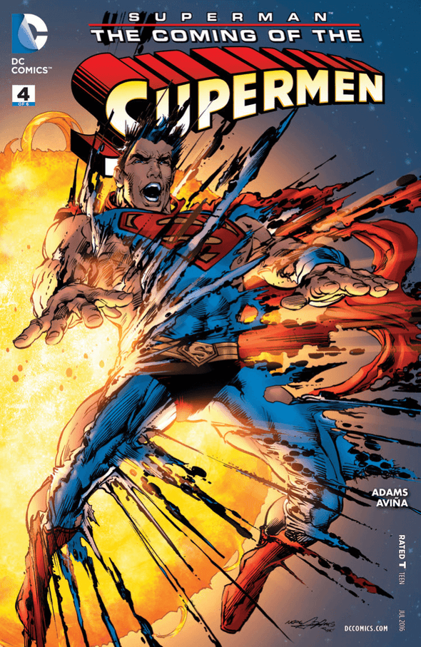 Superman: The Coming of the Supermen (2015) #04