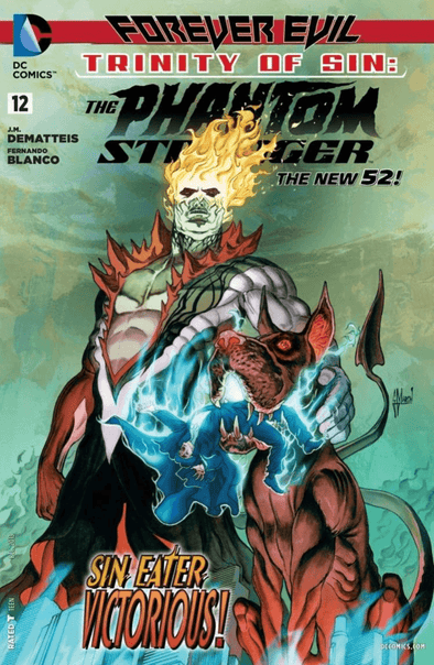 Trinity of Sin: Phantom Stranger (2012) #12