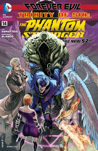 Trinity of Sin: Phantom Stranger (2012) #14