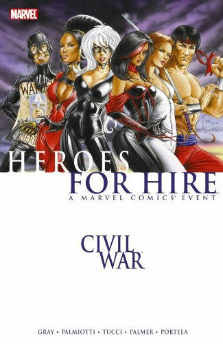 Civil War Heroes for Hire TP