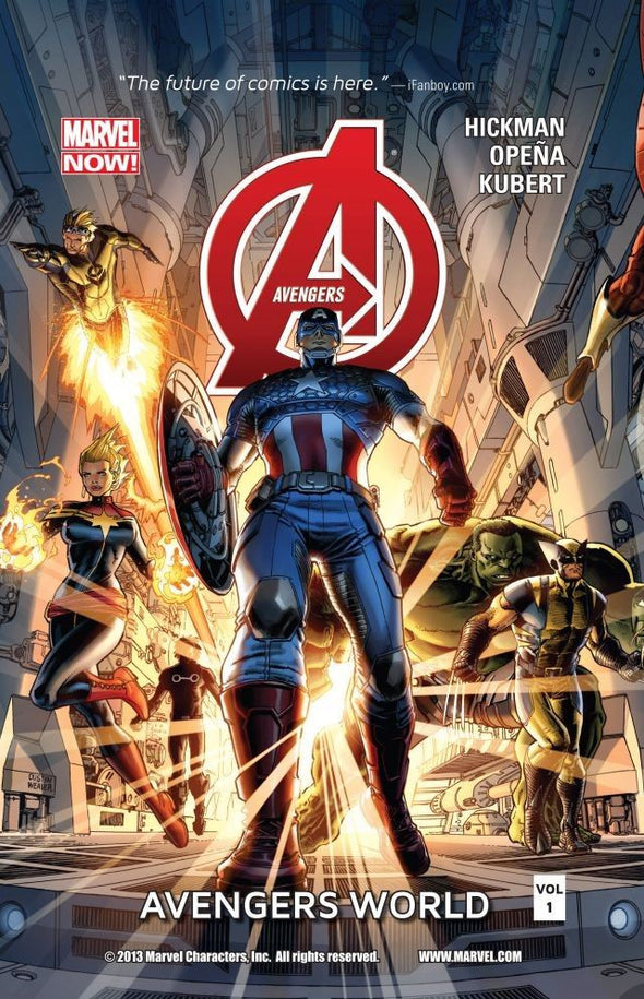 Avengers (2012) TP Vol. 01: Avengers World