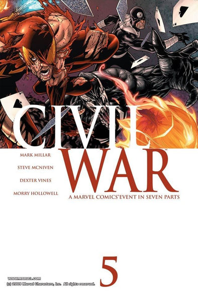 Civil War (2006) #05
