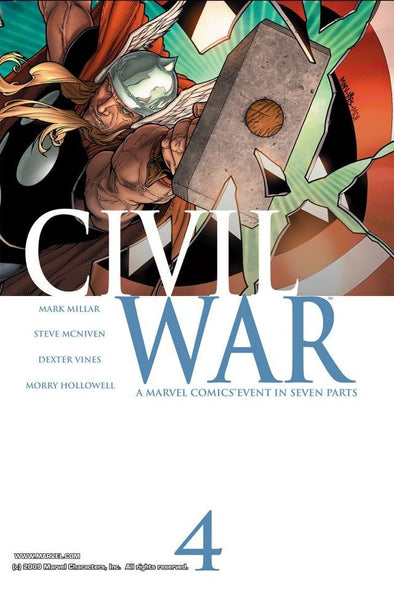 Civil War (2006) #04
