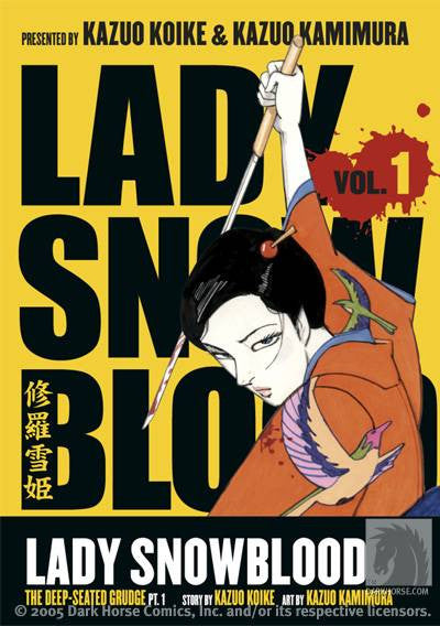 Lady Snowblood Vol. 01: The Deep-Seated Grudge Pt. 01 TP