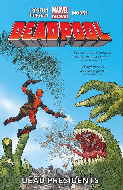 Deadpool (2012) TP Vol. 01: Dead Presidents