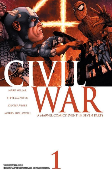 Civil War (2006) #01