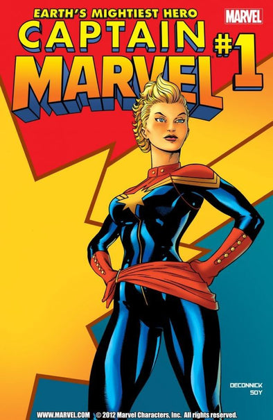 Captain Marvel (2012) #01