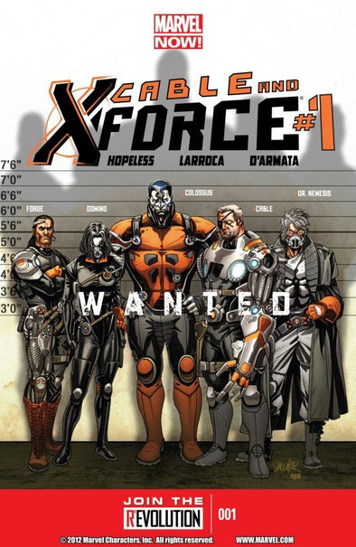 Cable & X-Force (2012) #01