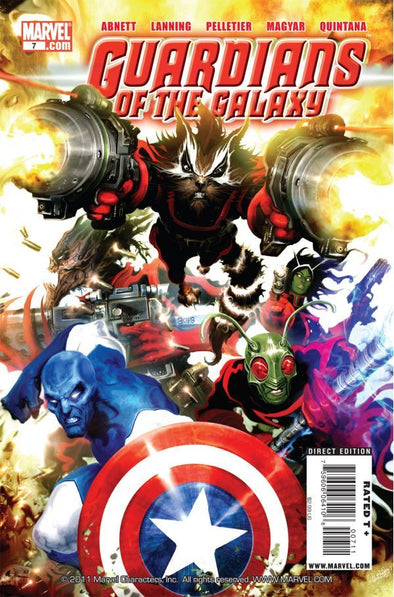 Guardians of the Galaxy (2008) #07