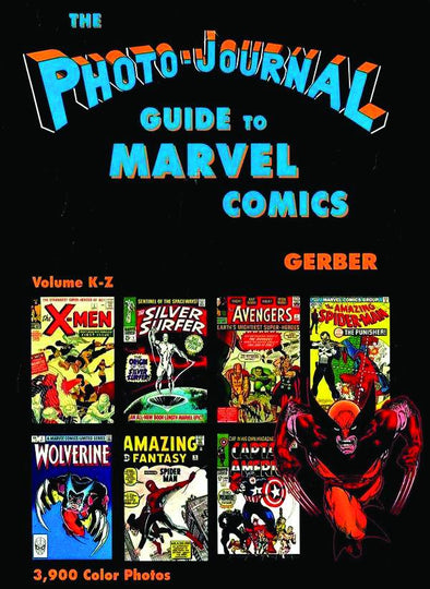 Photo Journal Guide to Marvel Comics HC Vol. 4 (K-Z)