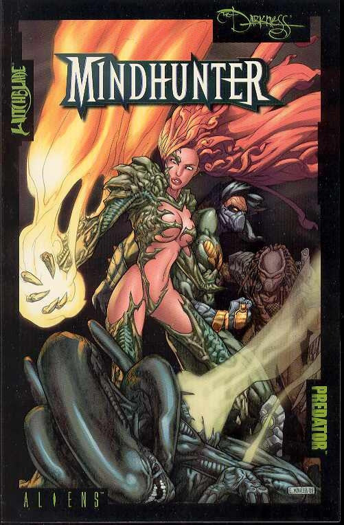 Aliens vs. Predator Witchblade Darkess Mindhunter TP