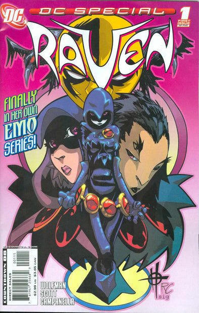 DC Special Raven (2008) #01