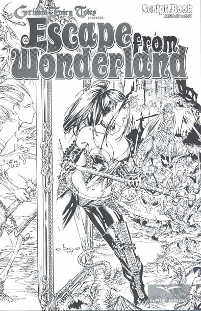 Escape from Wonderland Skript Book (2009) #01