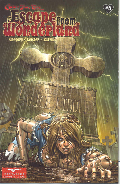 Escape from Wonderland (2009) #03 (of 6)