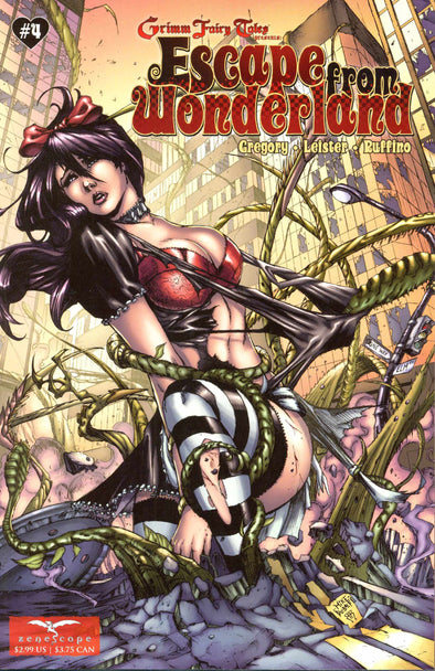 Escape from Wonderland (2009) #04 (of 6)