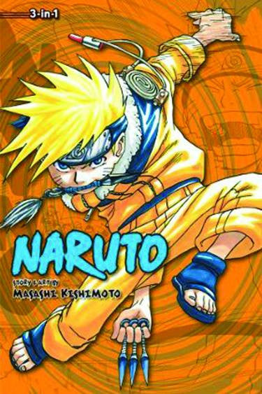 Naruto 3-in-1 TP Vol. 02
