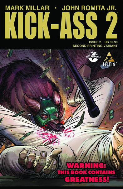 Kick-Ass 2 #002 (2nd Printing)