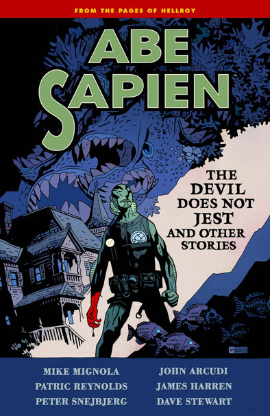 Abe Sapien TP Vol. 02: The Devil Does Not Jest