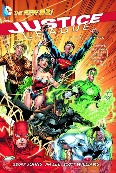 Justice League (2011) TP Vol. 01: Origin