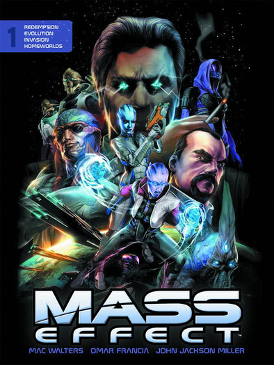 Mass Effect Library Edition HC Vol. 01