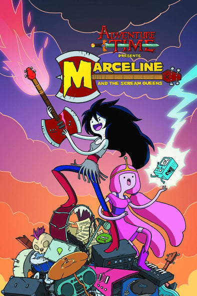 Adventure Time Presents Marceline & The Scream Queens TP Vol. 01