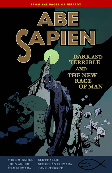 Abe Sapien TP Vol. 03: Dark and Terrible