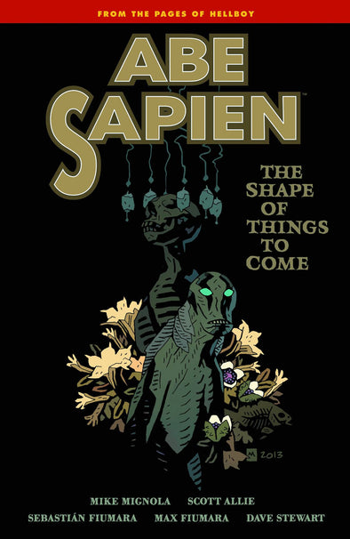 Abe Sapien TP Vol. 04: The Shape of Things to Come