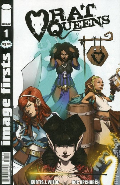 Image Firsts: Rat Queens #01