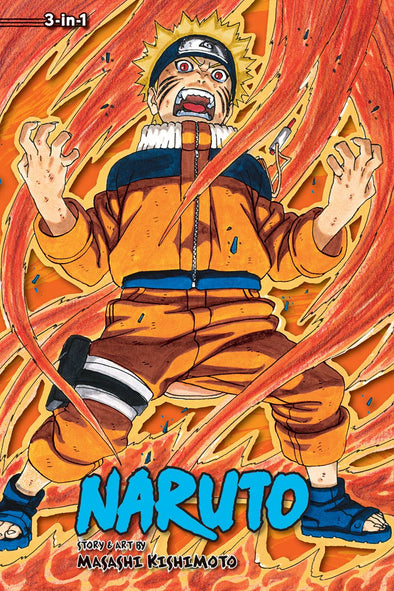 Naruto 3-in-1 TP Vol. 09