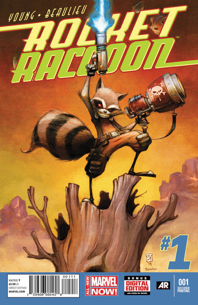 Rocket Raccoon (2014) #01 (2nd Printing)
