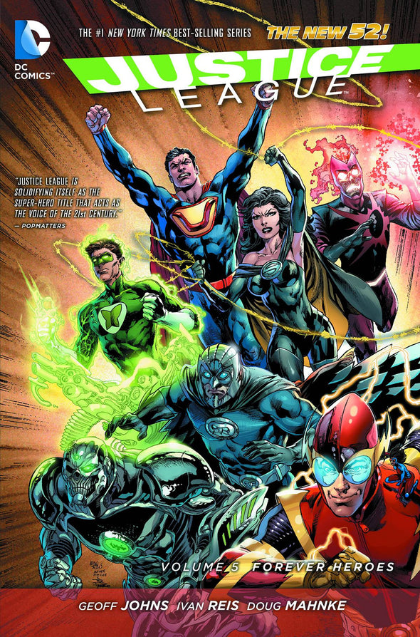 Justice League (2011) TP Vol. 05: Forever Heroes