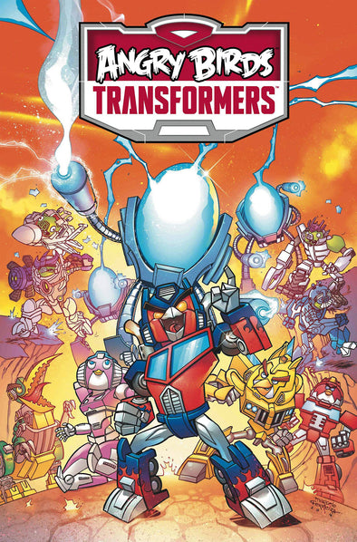 Angry Birds Transformers: Age of Eggstinction HC