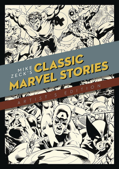 Mike Zeck Classic Marvel Stories Artist Edition HC