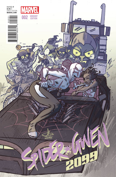 Secret Wars: 2099 (2015) #02 (Jason Latour Spider-Gwen Variant)