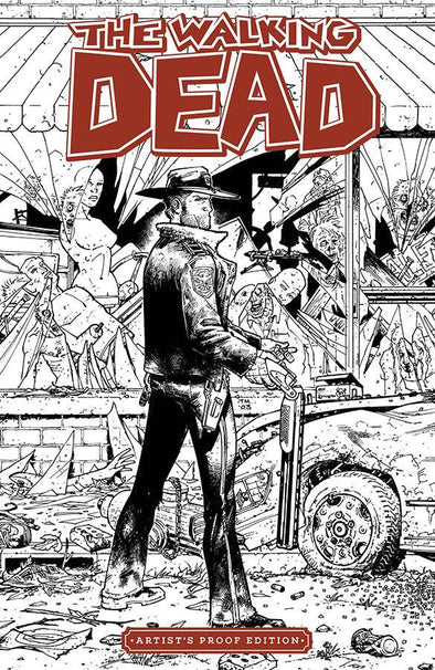 Image Giant Sized Artist Proof ED: Walking Dead #01