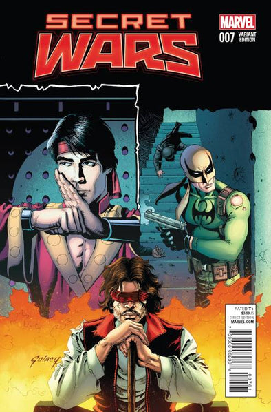 Secret Wars (2015) #07 (Tomm Coker Variant)