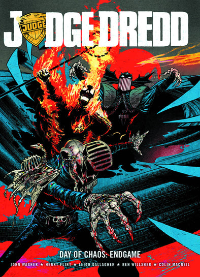 Judge Dredd: Day of Chaos Endgame TP