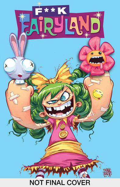 I Hate Fairyland (2015) #01 (F**K Fairyland Variant Signed by Skottie Young + COA)