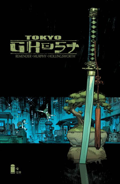 Tokyo Ghost #02 (Cover B)