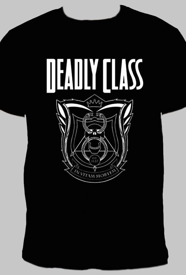 Deadly Class Logo T Shirt Incognito Comics