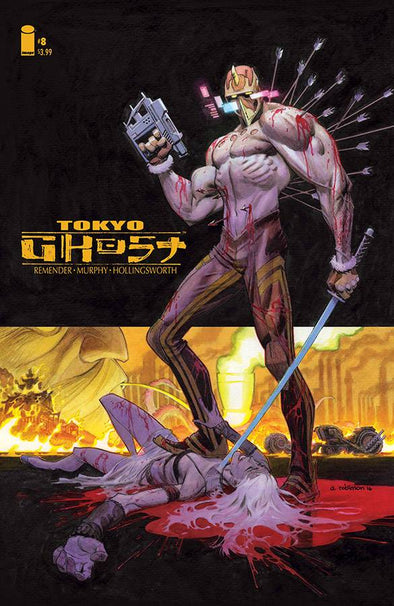 Tokyo Ghost #08 (Cover B)